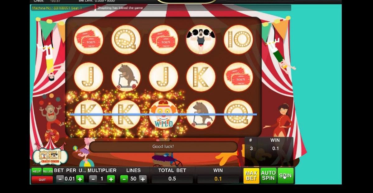 Crazy Circus Slot Online